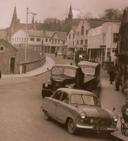 J T Young's garage on Boat Road