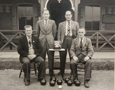 Photo of Newport Winners of Hunter Cup 1955