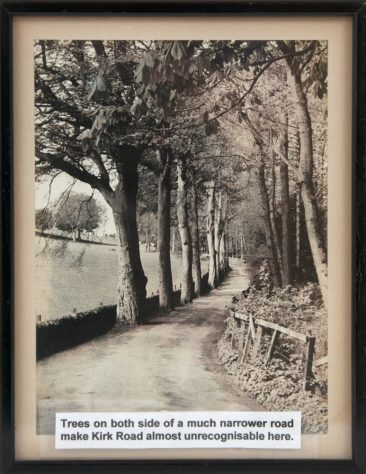 Framed Photograph of Kirk Road, Newport-on-Tay