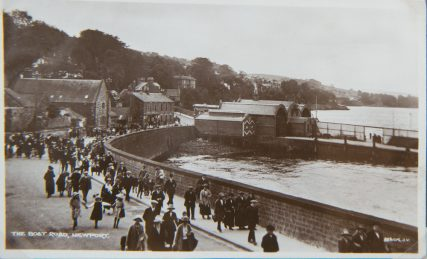 Postcard of Ferry Arriving at Boat Road Pier, c. 1920