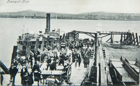 The Pier and River Tay