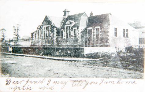 Postcard of Wormit Primary School