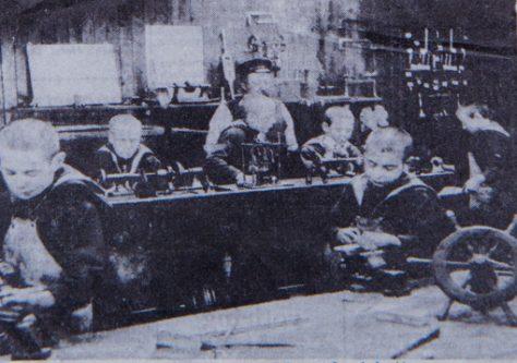 Mars Boys in the Workshop