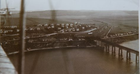 Aerial Photograph of Wormit
