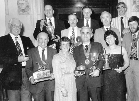 Curling Club Prize-giving c. 1980