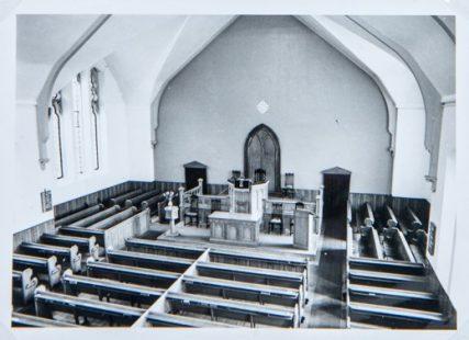 Congregational Church interior view | George Miller