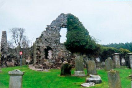 Ruins of Old Forgan Church