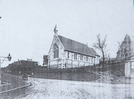 St Mary's Church then and now