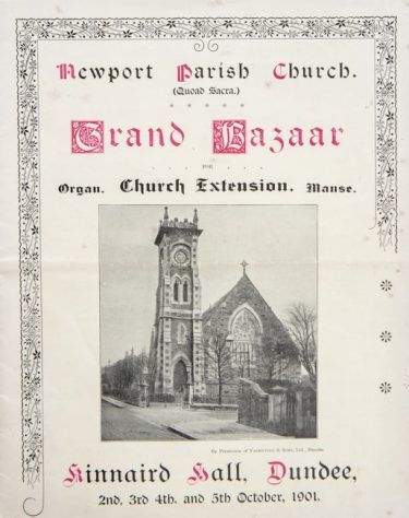 Newport Parish Church Grand Bazaar Brochure 1901