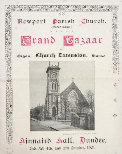 Newport Parish Church Grand Bazaar 1901