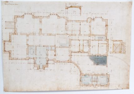 St Fort House Ground Floor Plan