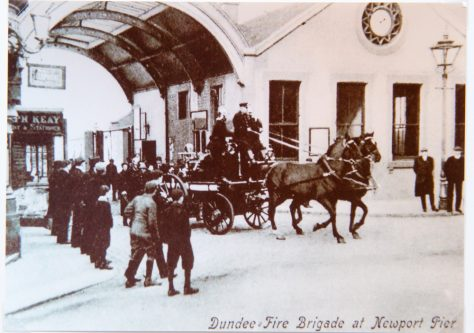 Dundee Fire Brigade at Newport Pier