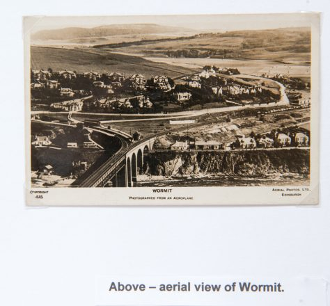 Aerial View of Wormit