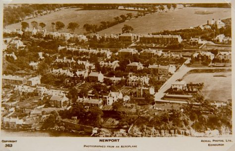 Aerial Photograph of West Newport c. 1920