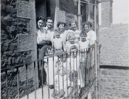 Family Group at James Square
