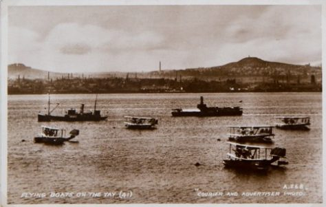 Flying Boats on the River