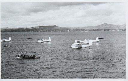 Flying Boats on the River Pre-World War II