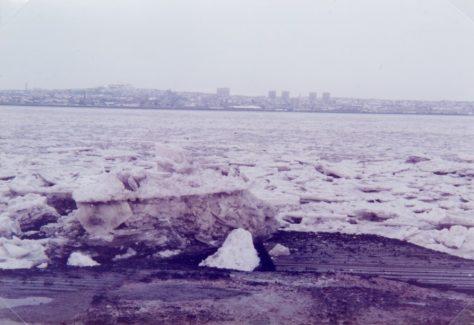 Big Freeze on River 1982