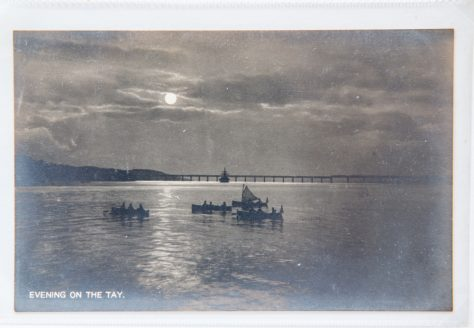 Postcard: Evening on the Tay