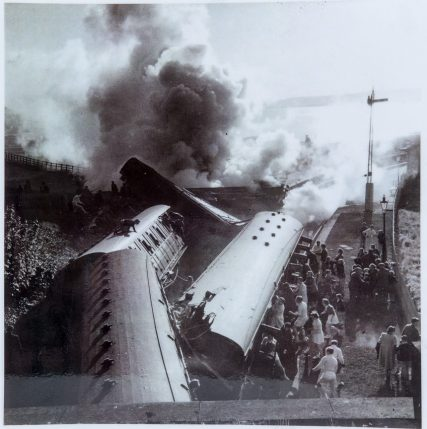 Accident in May 1955