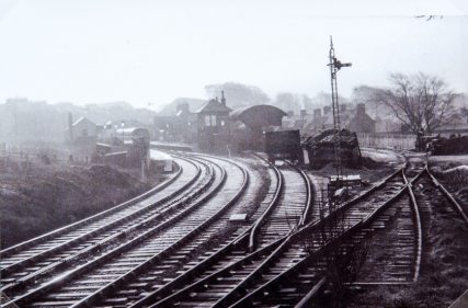 Railway Sidings at East Newport