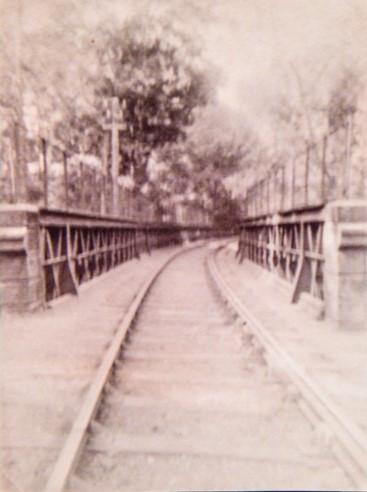 On Tayfield Viaduct