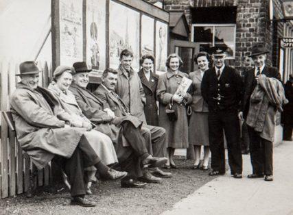 Happy Passengers at West Newport