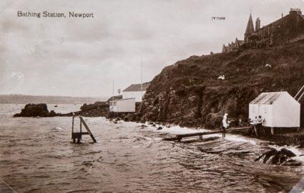 Newport Braes the Bathing Station.