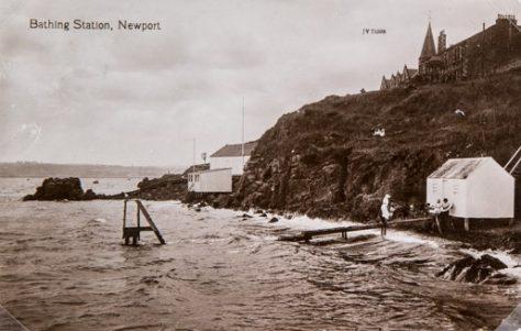 Newport Braes: the Bathing Station