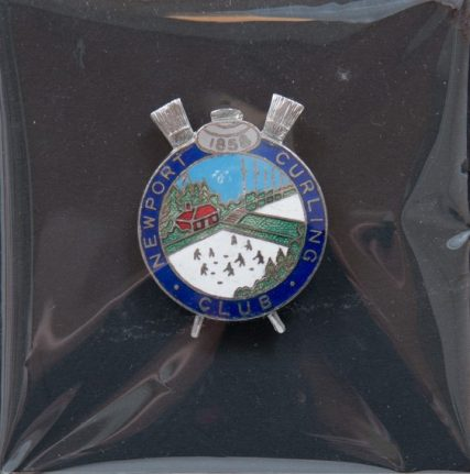 Curling Club Badge