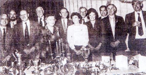 Curling Club Prize-giving 1980