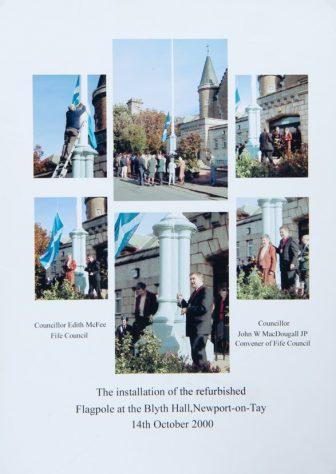 Refurbishment of Blyth Hall Flagpole 2000