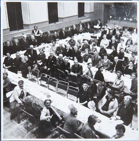 Dinner in Blyth Hall c. 1970