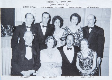 Dance in Blyth Hall 1960s
