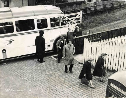 Passengers Bussed from Tayport | D C Thompson