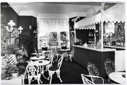 Elaborate Cocktail Bar at Seymour 1980