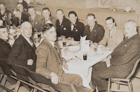 Curling Club Dinner in Blyth Hall