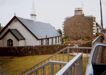 St Fillan's from Queen Street
