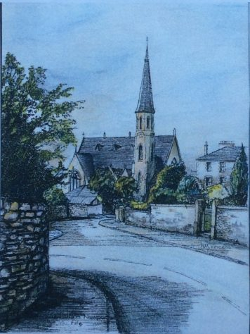 St Fillan's Church Drawing