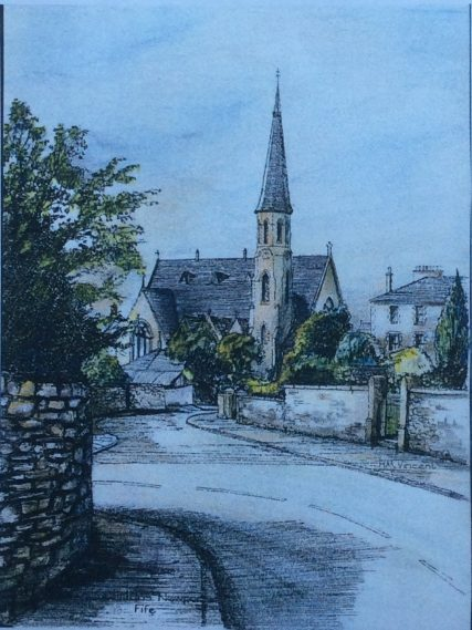 St Fillan's Church Drawing | Harry Vincent