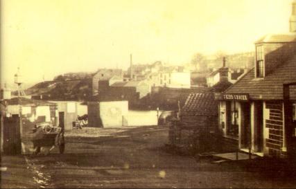 Newport Pierhead Area c. 1870
