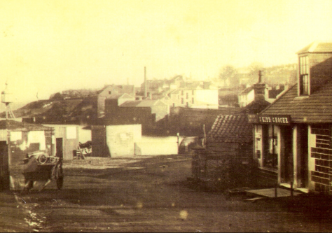 Newport Pierhead Area c. 1870