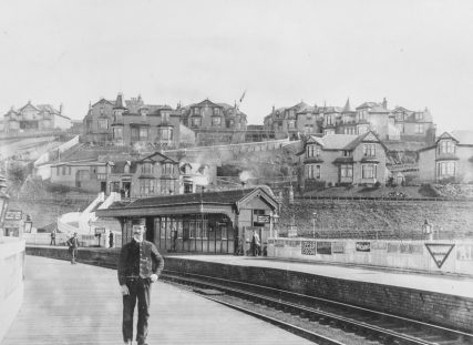 Wormit Station and Village