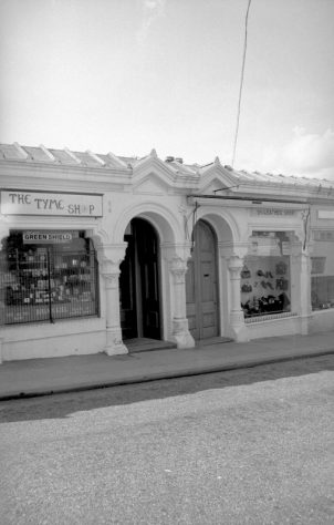 Pier Shops - the Tyme Shop and the Leather Shop