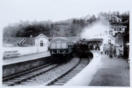 Steam and Diesel Passing