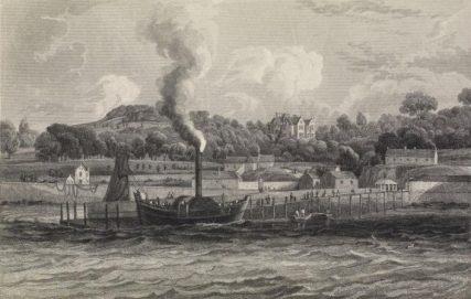 The Union at Thomas Telford Pier c. 1840