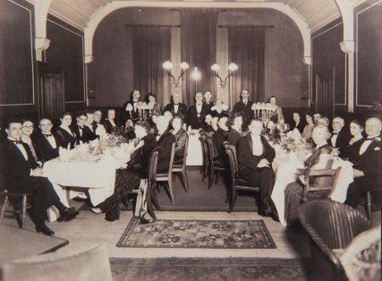 Dinner in Small Blyth Hall 1934 193