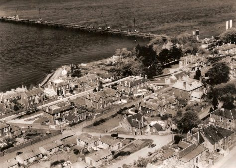 East Newport and the Building of the Road Bridge, c. 1965
