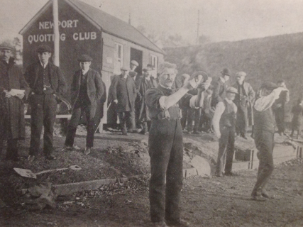 Newport Quoiting Club 1913