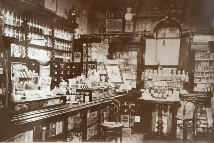 Interior of Doig's Shop on Robertson Place | Ian Waugh